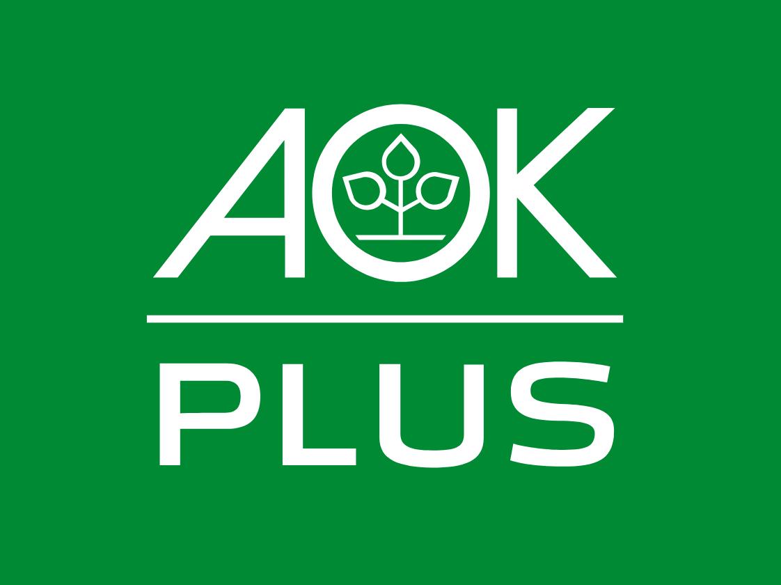 AOK Plus Logo grün