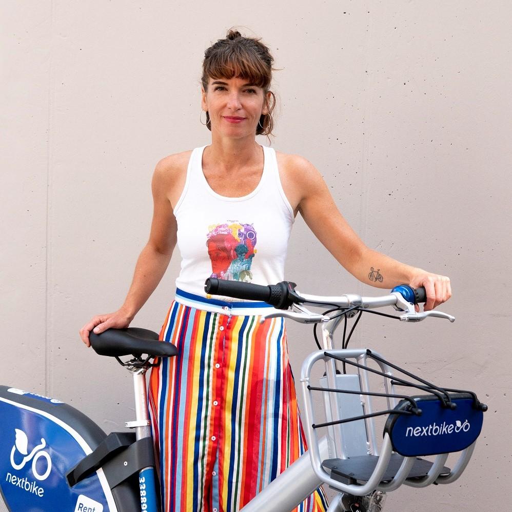 Mareike Rauchhaus nextbike Pressesprecherin