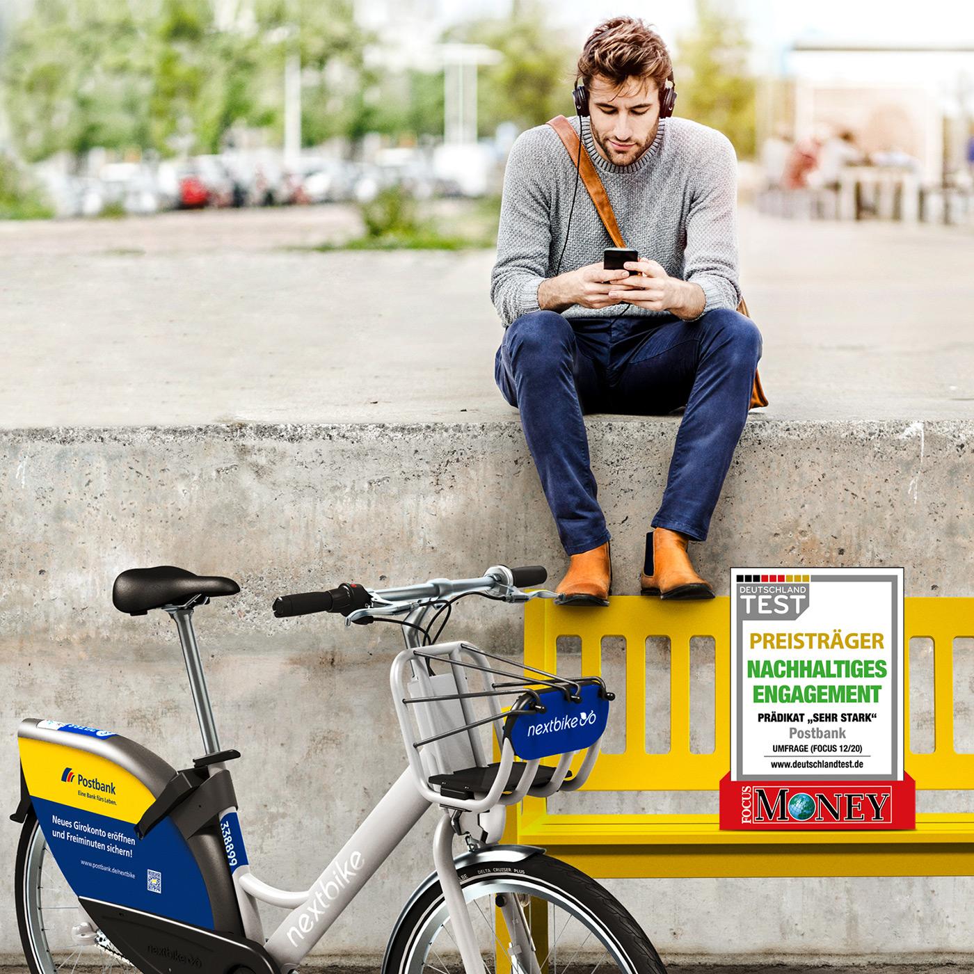 nextbike Postbank Kampagne