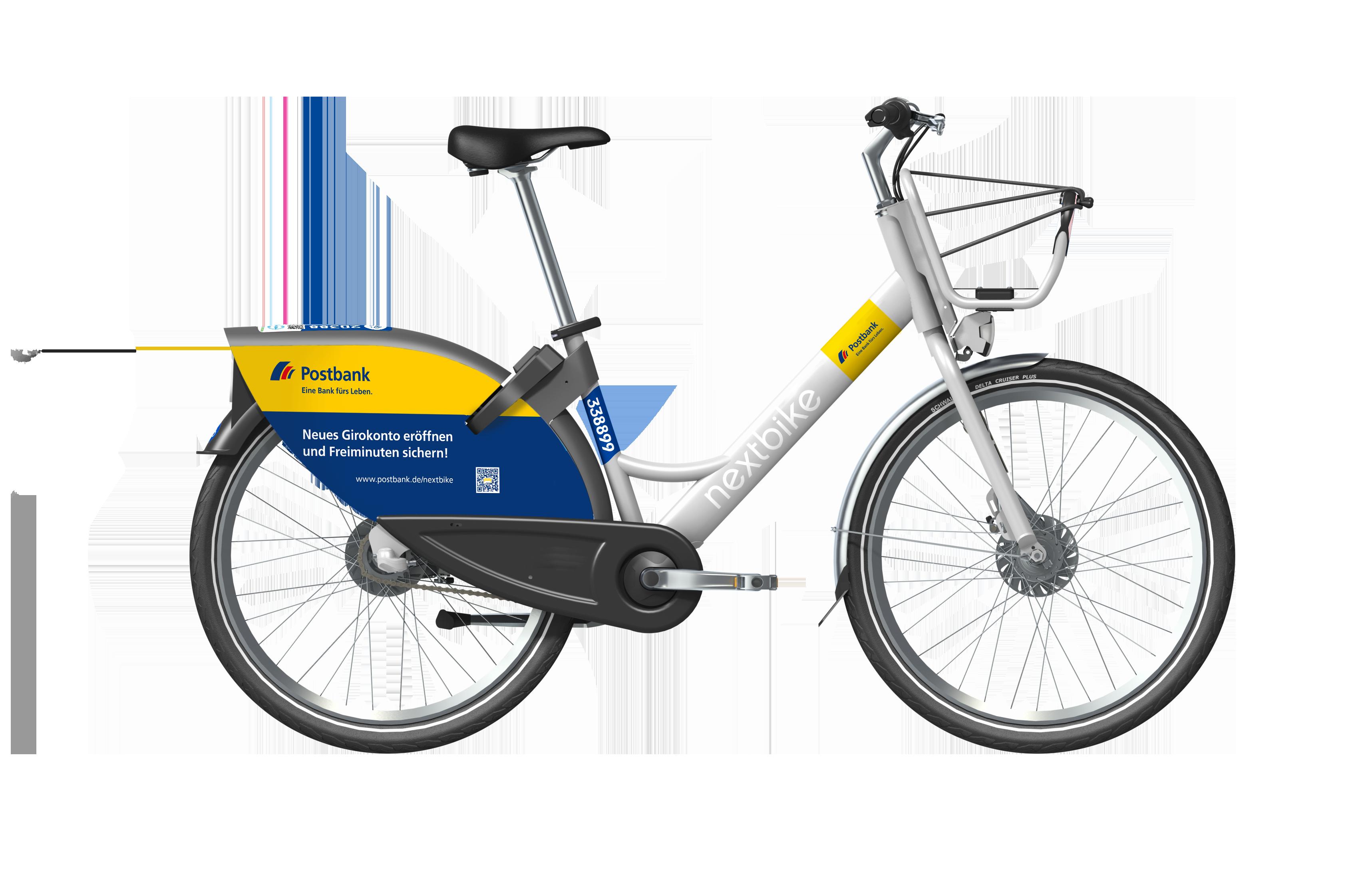 Postbank gebrandetes Smartbike 2.0