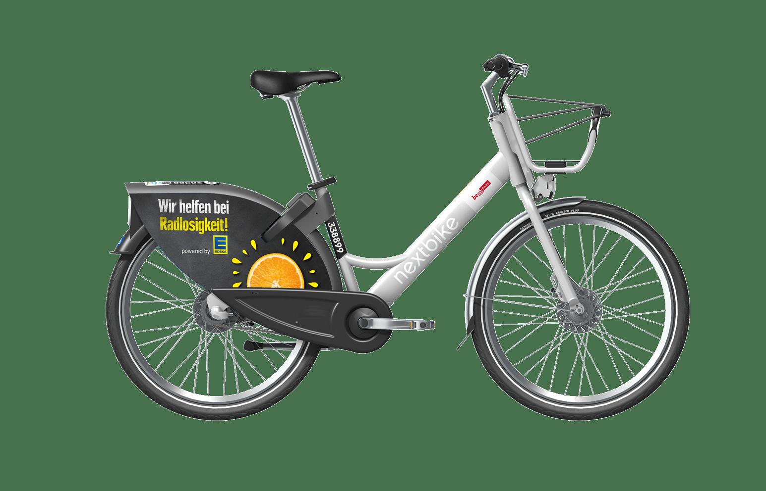 smartbike 2.0 mit edeka branding