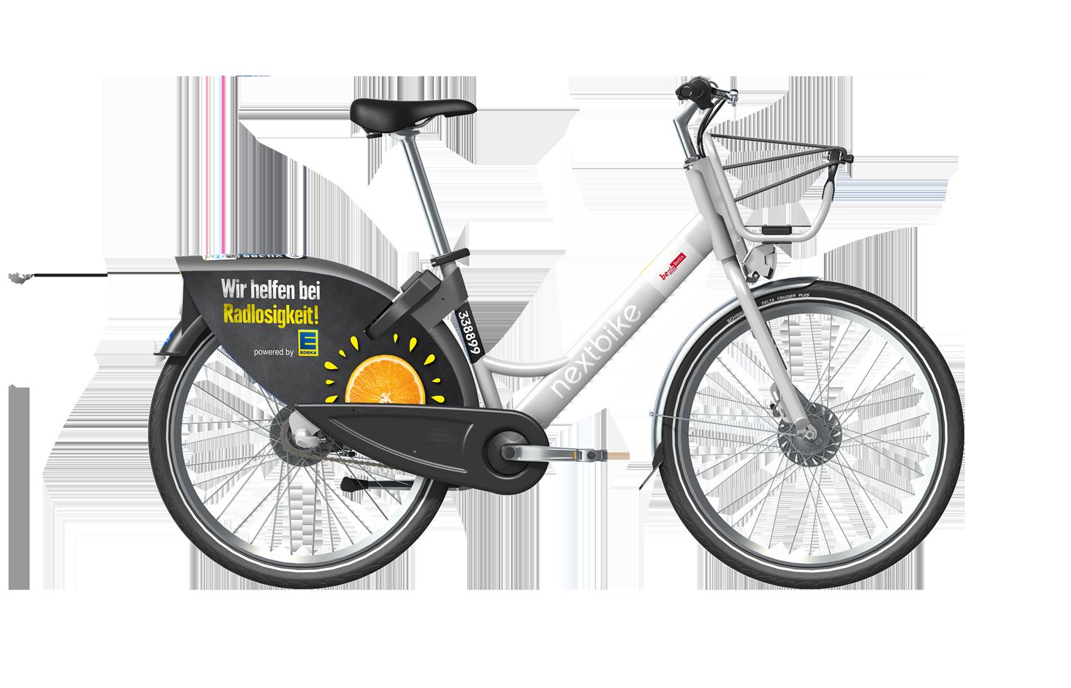 nextbike smartbike 2.0 mit edek branding
