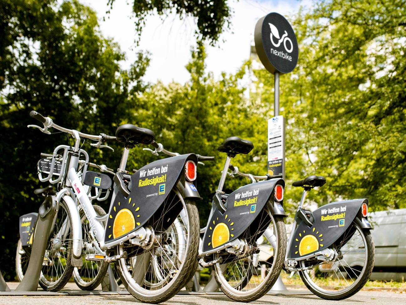 nextbike Edeka Station in Berlin